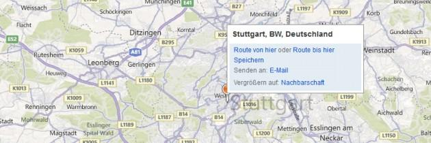 Bing Maps in die eigene Webseite einfgen