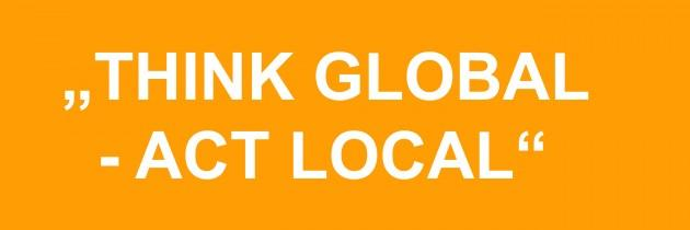 Public Relations: Think global – act local