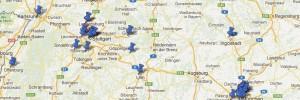 Orte in Google Maps markieren
