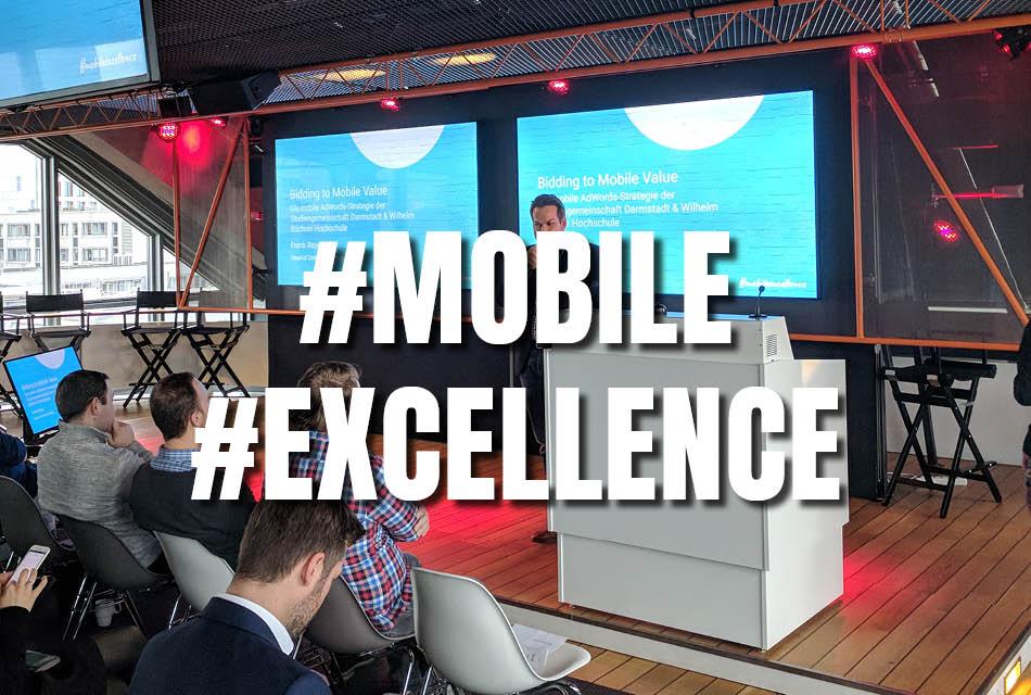Vortrag bei Google: Bidding to Mobile Value