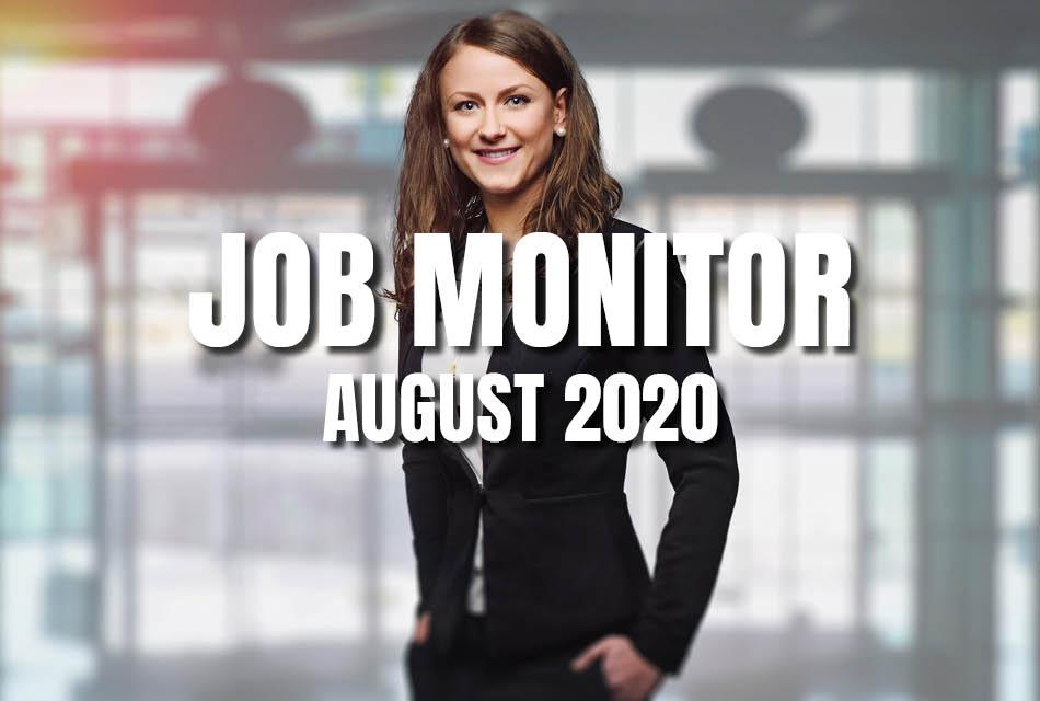 Marketing Job Monitor August 2020